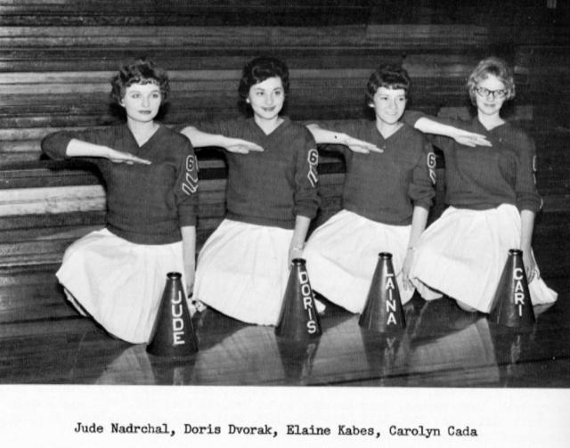 cheer 1961-62