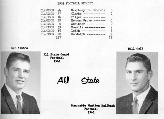 SCHEDULE 1961-62