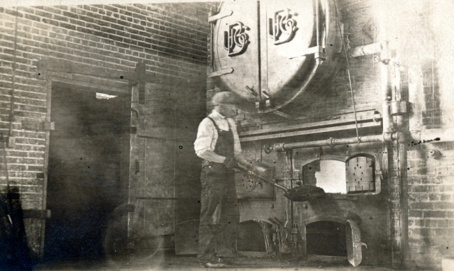 City Hall Boiler Room 1918