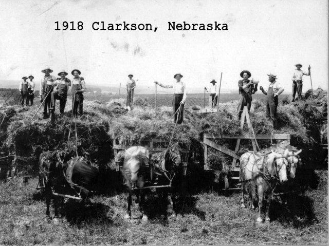 1918 Clarkson Nebraska