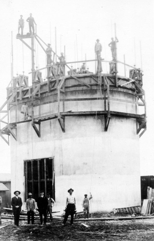 Silo Construction 1919