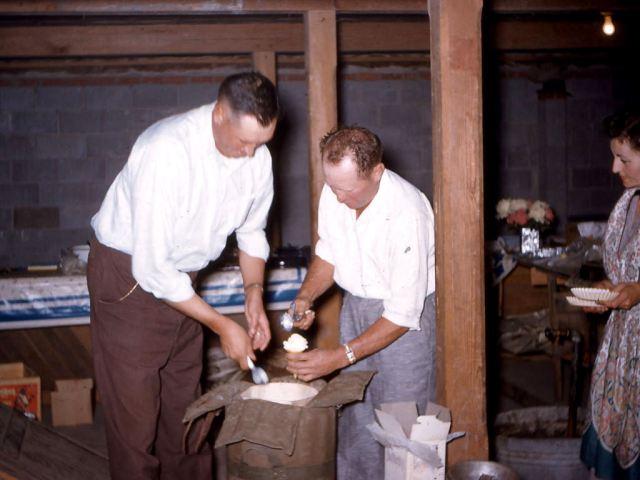Dad and Jerome Spulak at Heun