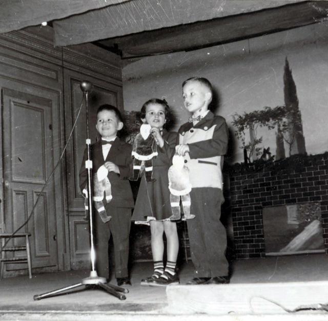 Theresa's First Program 12-1954