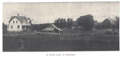 Czech Farm from Rosicky