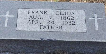 Frank Cejda grave