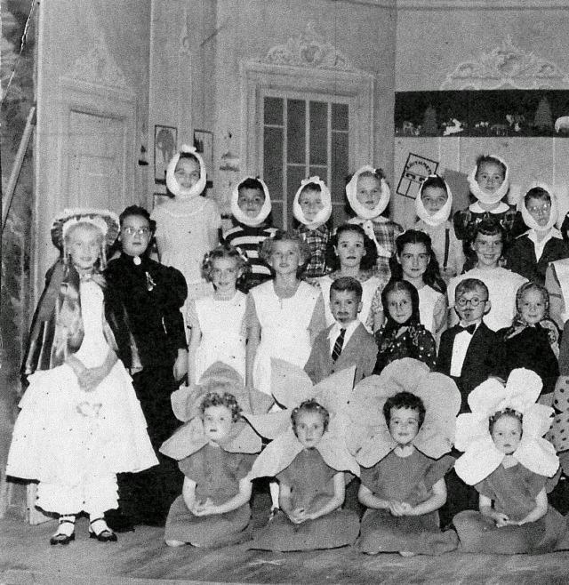 School Play 1950 left