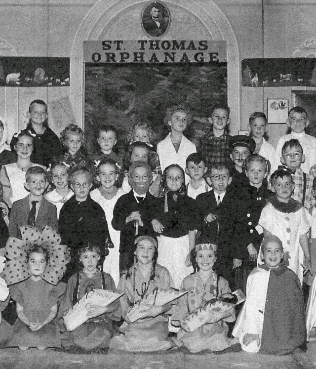School Play 1950 middle