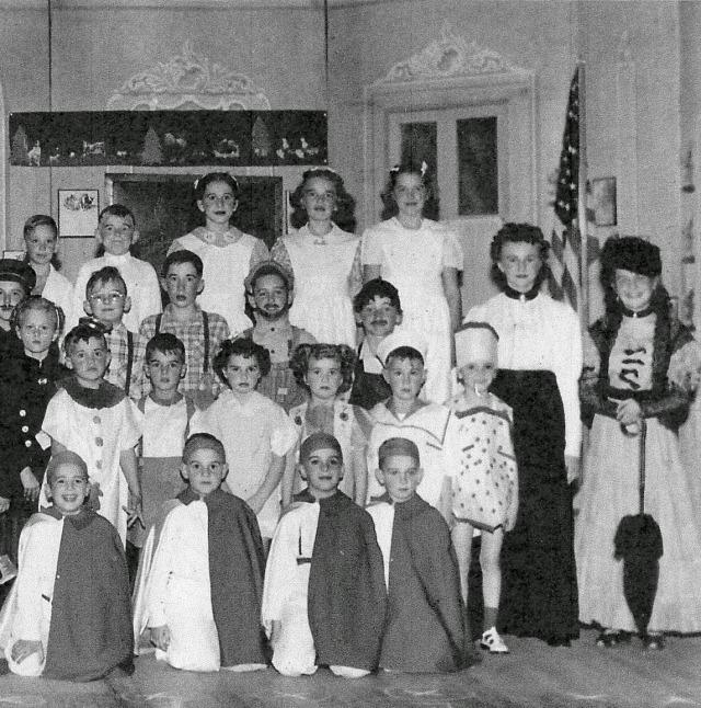 School Play 1950 right