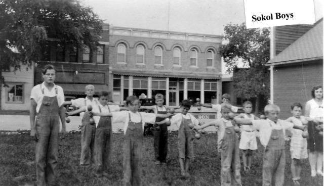 Clarkson Sokol Boys ca 1930
