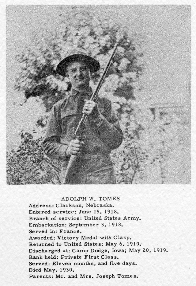 Adolph Tomes