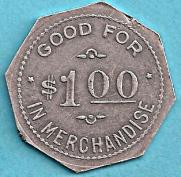 1 dollar token