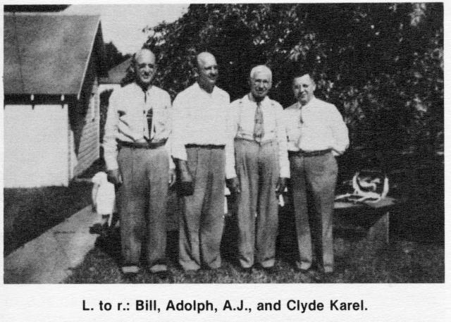 Bill Adolph AJ and Clyde Karel