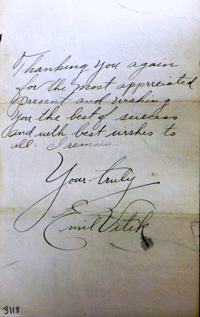 Vitek letter 3