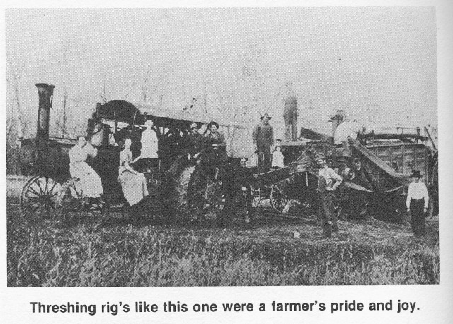 Threshing rig family