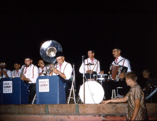 Chuck's Band Aug 61