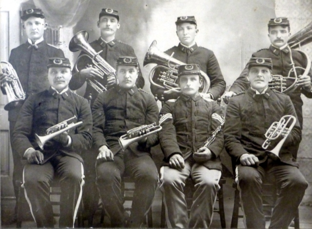 Clarkson Dance Band ca 1898