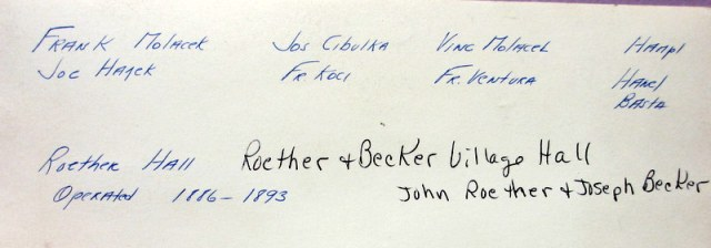 Roether and Becker Band caption