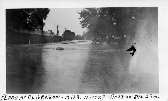 Clarkson Flood Aug 11 1927