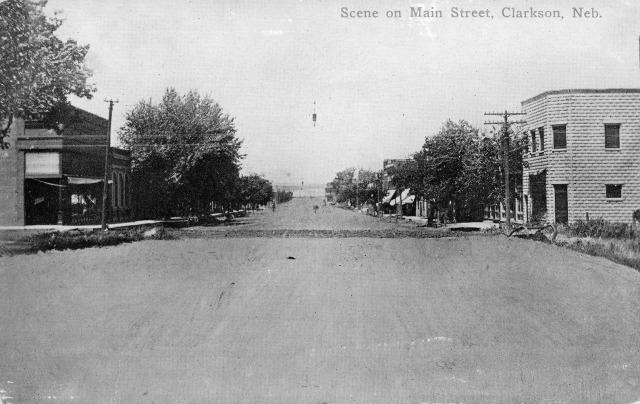 Clarkson Main Street looking north