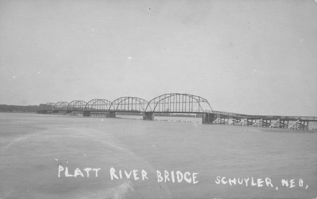 Platte River Bridge in Schuyler