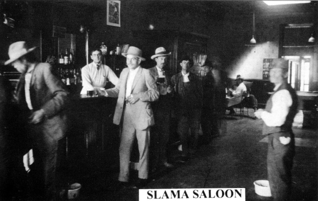 First Slama Saloon - Colfax County Picture Book
