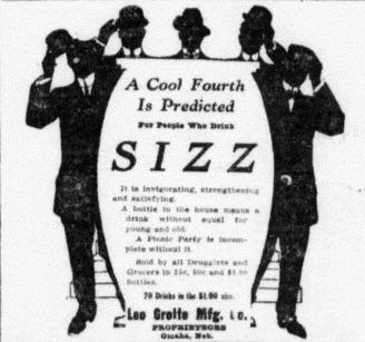 Sizz - Omaha Sunday Bee July 3 1910