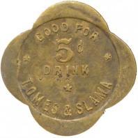 5 cent token 3