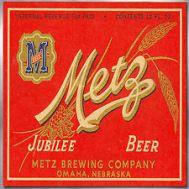 Metz Beer label