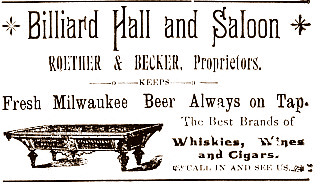 Roether & Becker 1887 ad sepia