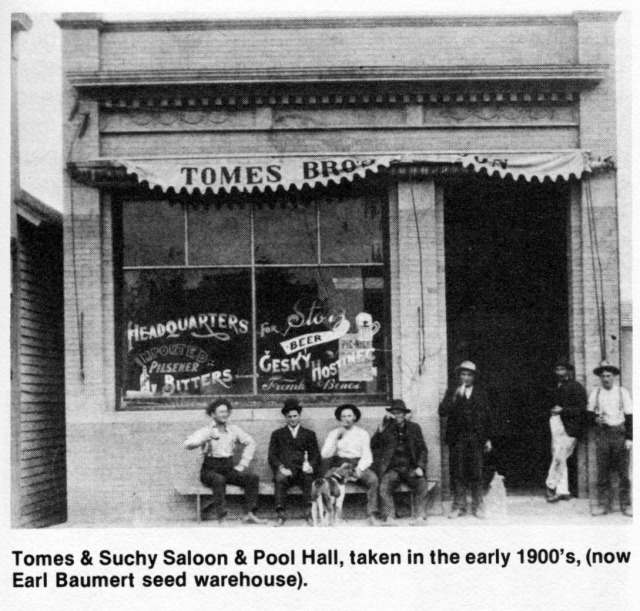 Tomes and Suchy Saloon
