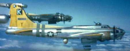 B-17 bombing