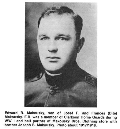 Edward R Makousky