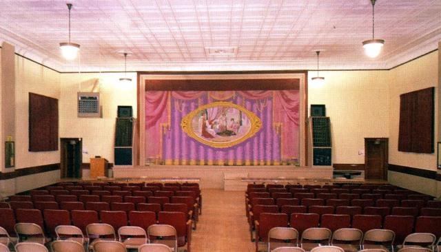 Clarkson Opera House Interior