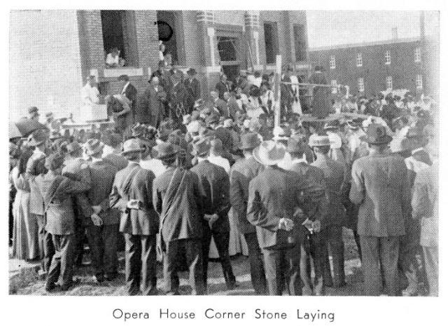 Opera House Cornerstone