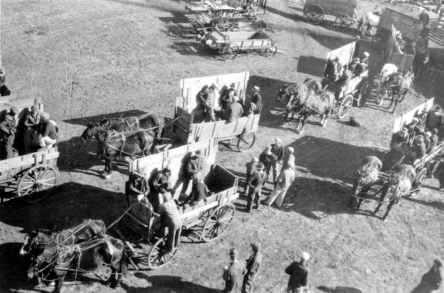 A-31 Emil J Sobota farmyard 1933